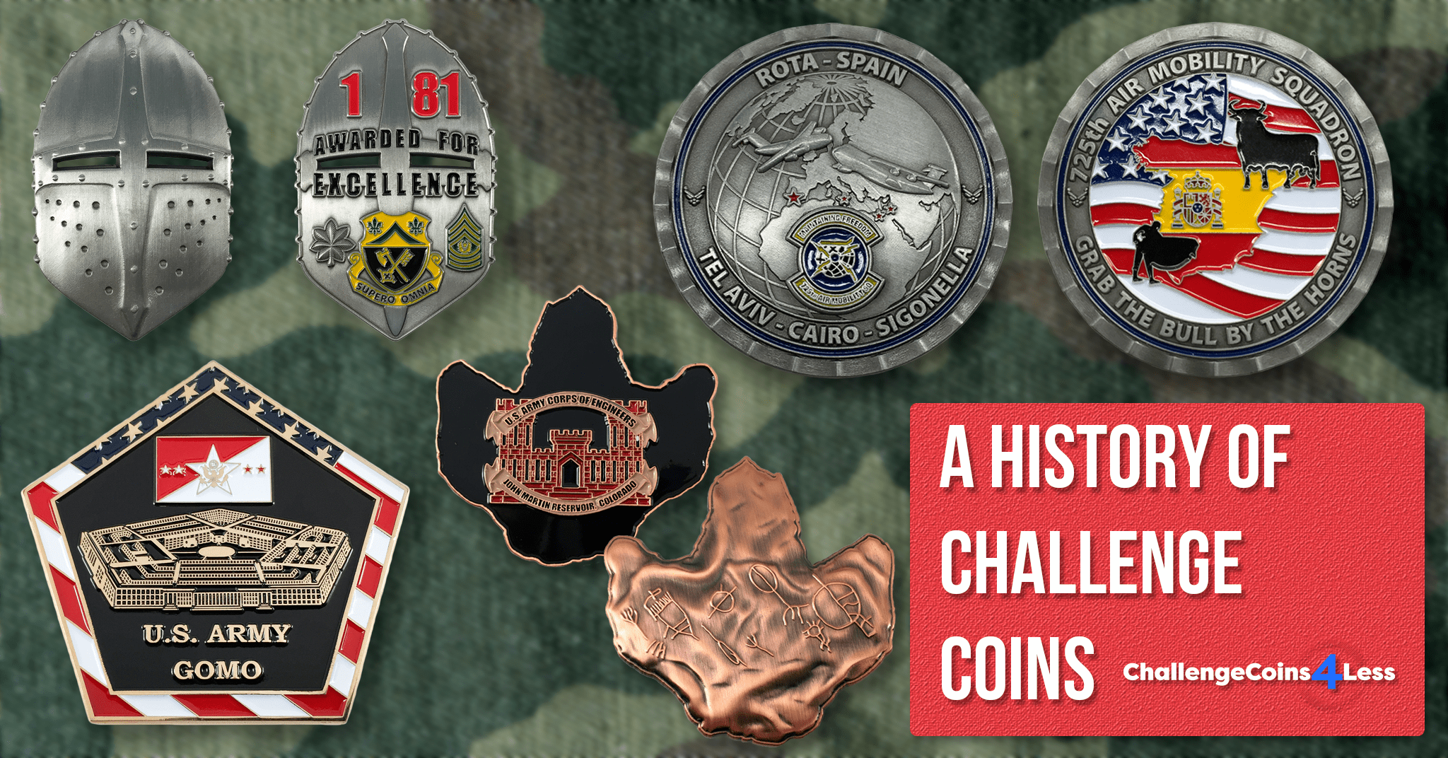 Ancient Romans, Spies, and WWI Aces: A History of Challenge Coins!