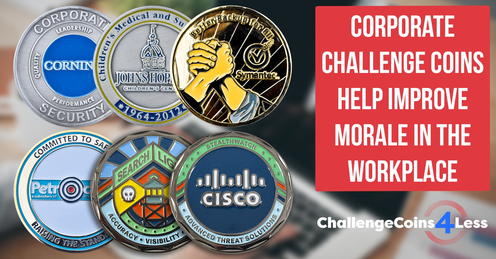Corporate Challenge Coins Improve Morale At The Workplace