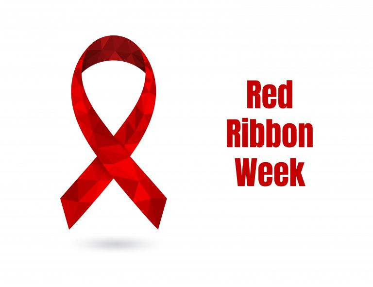 Red Ribbon Week Lanyards