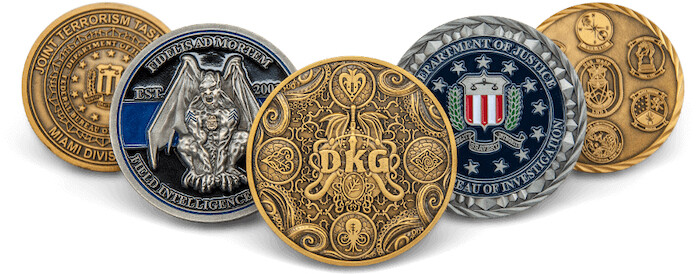 Elements That Make Outstanding Custom Challenge Coins